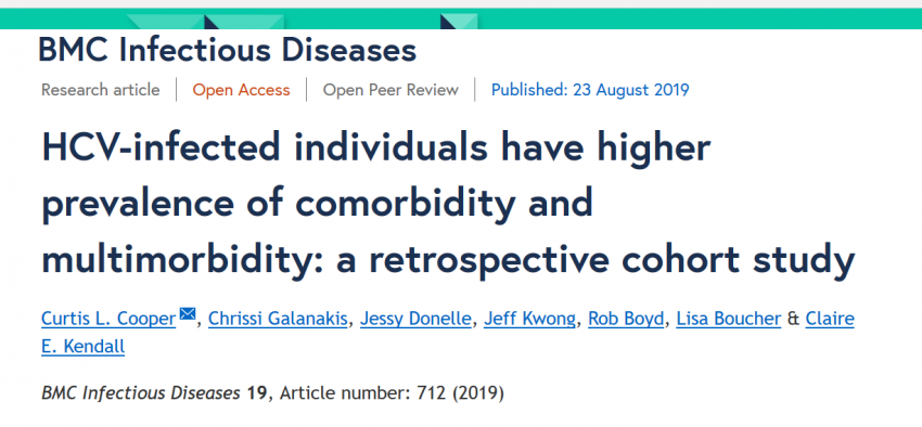 HCV-infected individuals have higher prevalence of physical and psychiatric comorbidity
