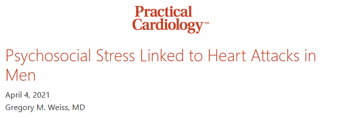 Vital Exhaustion is Linked to Myocardial Infarction in Men